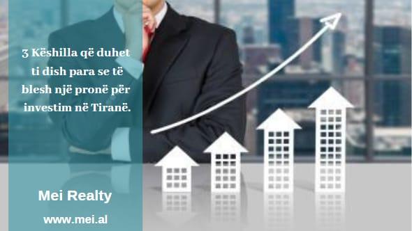 Çfarë duhet të dish para së të blesh një pronë për investim në Tiranë
